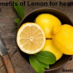benefits of lemon for health