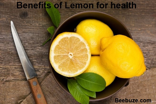 Live a healthy life with the benefits of lemon for health