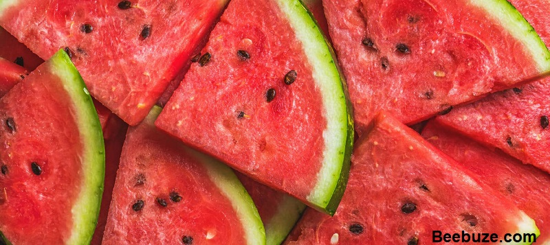 The health benefits of watermelon and the effect of consuming watermelon at night
