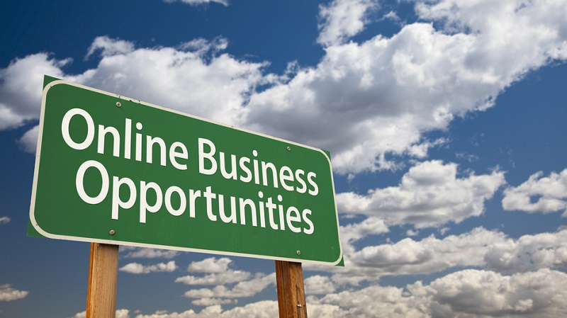 Businesses reborn with online business opportunities on the internet